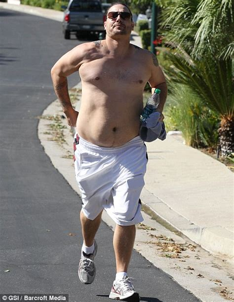 Kevin Federline I Could Never Take Back by Kevin Federline Bears His Stomach As He Attempts To Fight