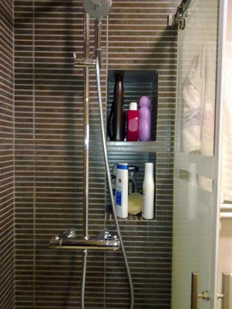 estantes para ducha foto estantes de obra interior ducha de reformes misael