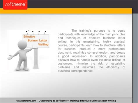 business letter writing course effective business letter writing