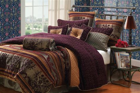 purple and gold bedding luxury bedding sets bed in a bag comforter purple plum