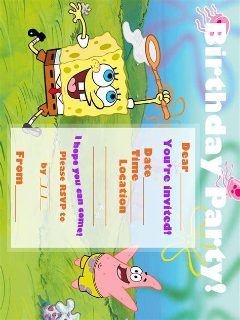 printable spongebob birthday decorations spongebob coloring pages