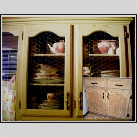 Chicken Wire Kitchen Cabinets by Discover And Save Creative Ideas