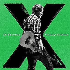 x (wembley edition) [cd+dvd] by ed sheeran: amazon.co.uk