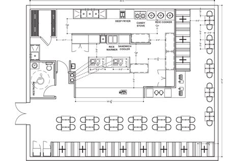 kitchen layout design restaurants small restaurant interior plans home design and decor