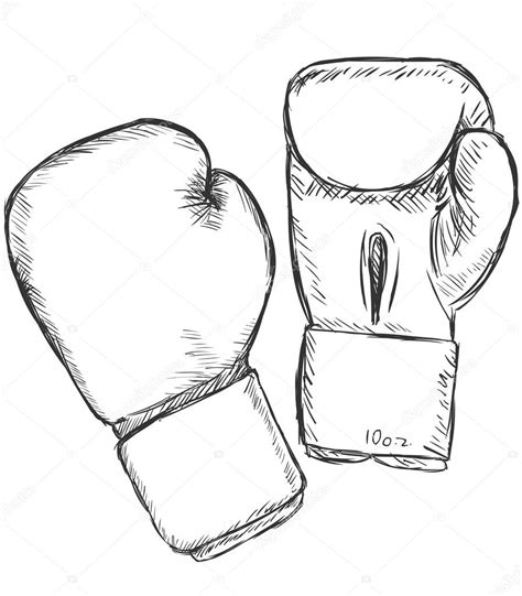 Boxing Gloves Vector Sketch Ing Gloves Stock Nikiteev Clip Art Cliparting Com Vector Image Black White Sketch