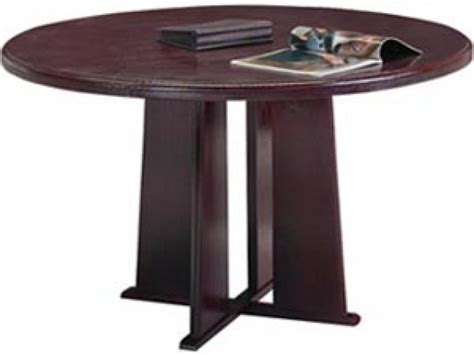 Solid Wood Conference Table Solid Wood Tapered Base Table 48 Quot Dia Conference Tables
