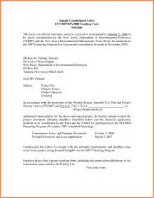 Letter Of Commitment Template by 7 Commitment Template Dentist Resumes
