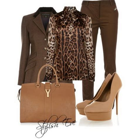 style eve clothes brown winter 2013 outfits for women by stylish eve 04