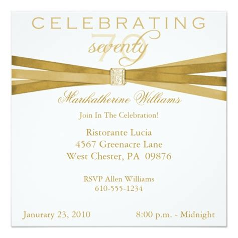 70th birthday invitations templates free 70th birthday invitations zazzle
