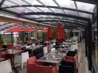 horeca enclosure system corso glass retractable patio