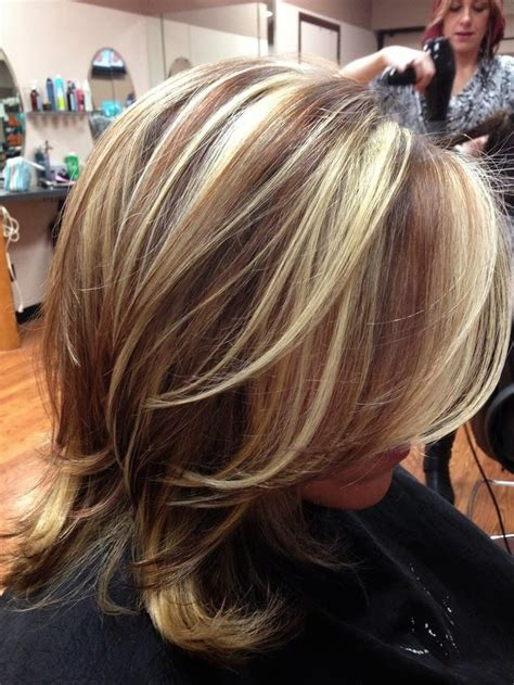 platinum highlights with brown hair 6 impressive dark hair with blonde highlights harvardsol com