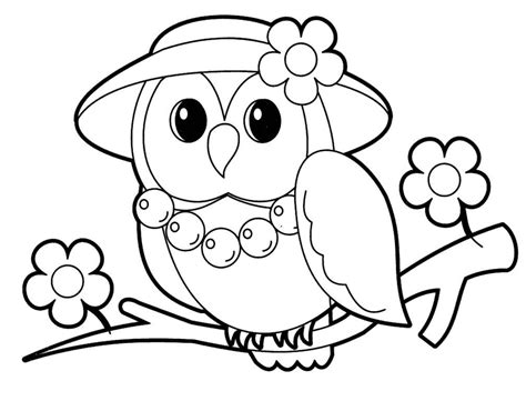 coloring books for toddlers owl coloring pages for coloring home