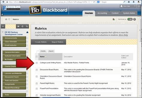 blackboard help desk blackboard learn applying the qep rubric to a assignment athens state help desk