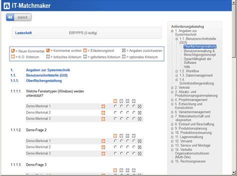 Ihtiya 231 Belirleme Rfi Rfq Trovarit The It Matchmaker Erp Requirements Template