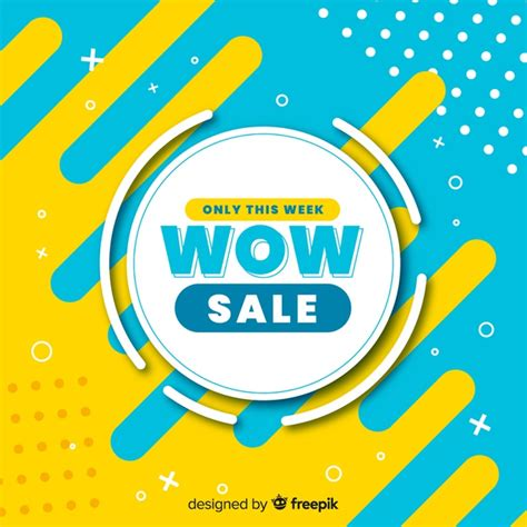 abstract sale promotion banner template vector