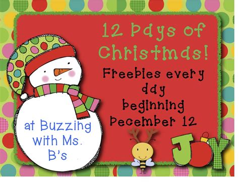 Buzzing With Ms B Ms - buzzing with ms b 12 days of starts tomorrow