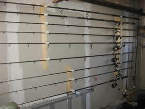 awesome fishing rod holders for garage 4 garage door