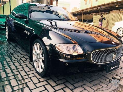 maserati price 2008 maserati quattroporte 2008 for sale in lahore pakwheels