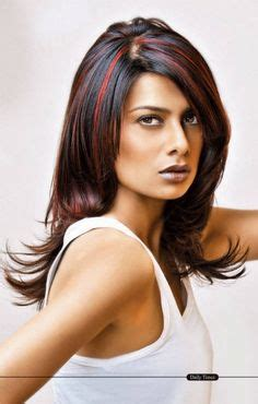 short modern hairstyles for women including blue streaks 1000 images about beauty on pinterest blue highlights