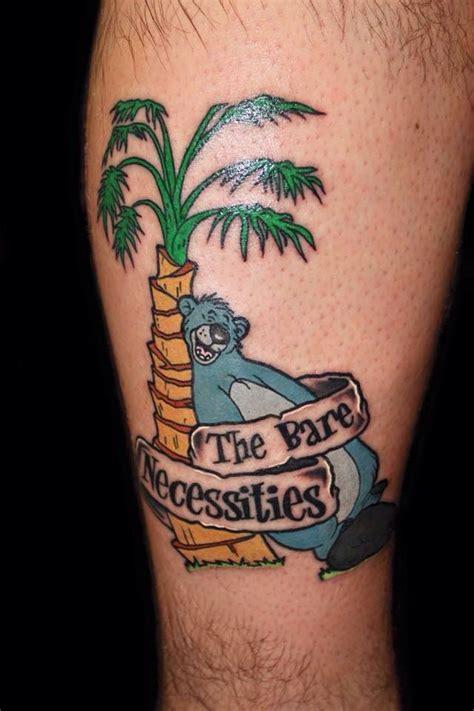 jungle tattoo designs jungle book disney tattoos disney