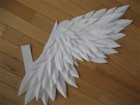 How To Make Wings Out Of Paper - 1000 images about and their wings on