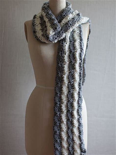 mock cable knit scarf pattern free crochet pattern this tunisian mock cable