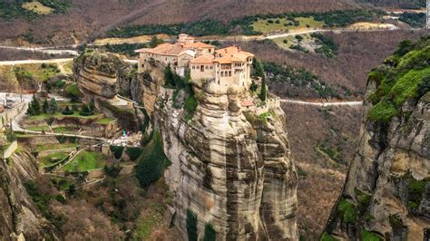 Landscape Inspiration by Meteora Greece S Monasteries In The Sky Cnn Travel