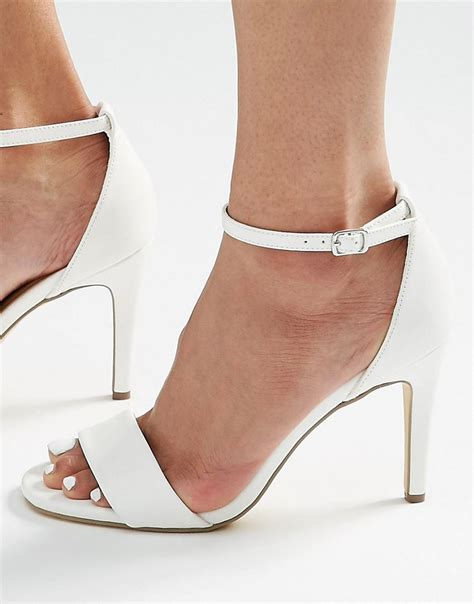 barely there sandals uk new look mid heel barely there sandals p14q3962 www