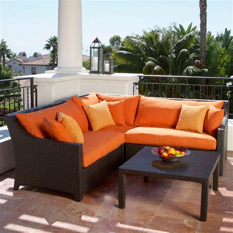 rst brands tikka 4 piece corner sectional sofa and coffee