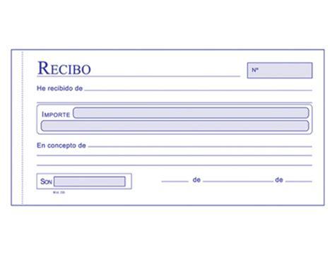 ejemplos de un recibo de dinero documentos comerciales