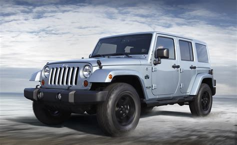 jeep arctic blue 2012 jeep wrangler arctic and liberty arctic models announced