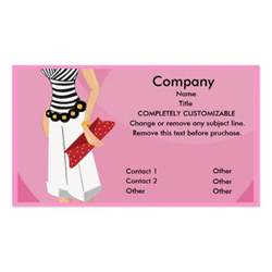boutique business cards high fashion boutique business card template zazzle