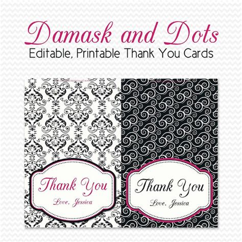 free thank you card template black and white 8 best images of thank you cards printable black and white