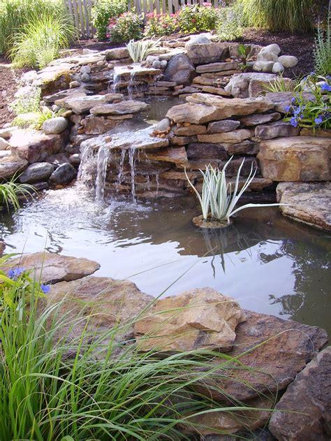 homemade waterfalls backyard best 25 tiered landscape ideas on pinterest