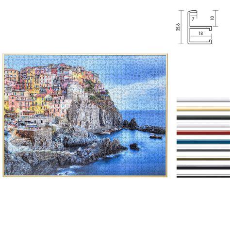 cornici puzzle ravensburger mira cornice in alluminio per puzzle per 1000 pezzi 48x64