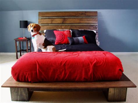 dog platform bed 15 amazing diy headboard ideas that are easy to make