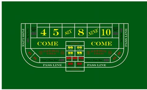 professional casino style craps table