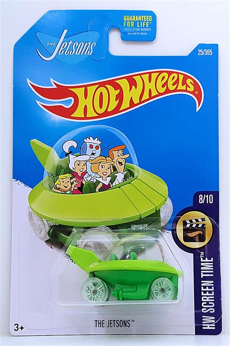 Diecast Wheels Screen Time The Jetsons the jetsons model cars hobbydb