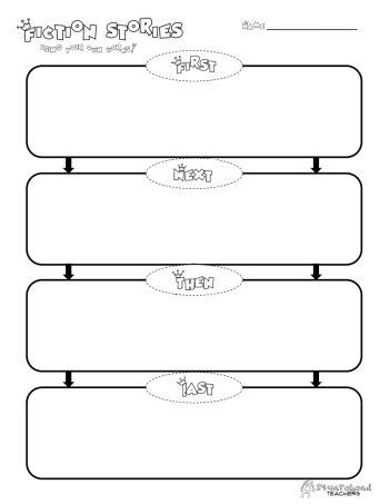 printable homework graphic organizer first next then last graphic organizer squarehead