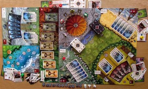 Shadows Camelot Board review shadows camelot serve with the knights of