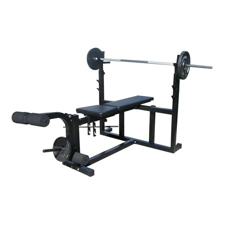 bench with weights weight bench standard