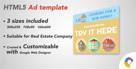 html5 sle template ad html5 template real estate by indieboygames codecanyon