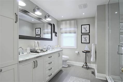 Lighting Over Kitchen Sink elegant white bathroom interior by marianilind