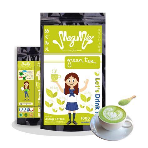 Teh Hijau Serbuk megumie 1kg green tea latte matcha powder bubuk minuman