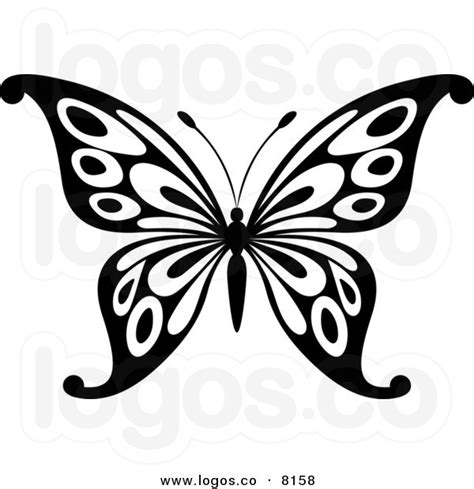 butterfly pattern black and white clipart black and white butterfly design clipart best