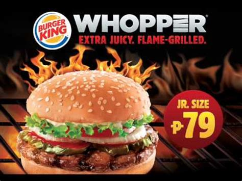 burger king whopper radio commercial youtube