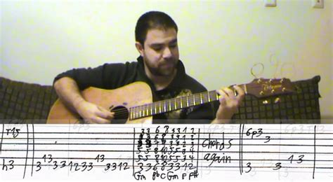 Tutorial Impossible Guitar | tutorial mission impossible fingerstyle guitar w tab
