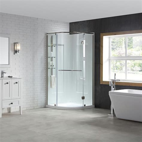 shower stall designs bathroom traditional with appliances bead board cabinet beeyoutifullife com ove decors amber 38 in x 38 in x 81 in corner shower