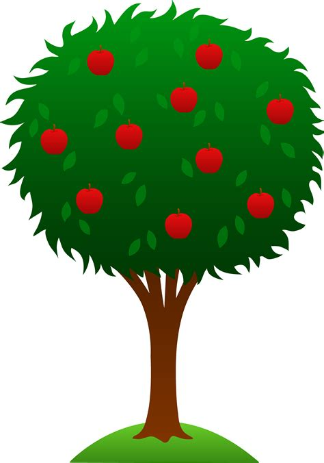 apple tree clipart apple tree design free clip