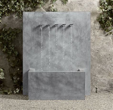 25 Best Ideas About Outdoor Wall Fountains On Pinterest Wall Garden Fountains